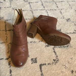 Josef Seibel Brown heeled boots